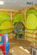 К радости детишек в помещение учебного центра установили декоративный водопад с подводной подсветкой.