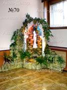 Еще одно произведение искусства в виде водопада Дарья, созданное мастерами компании Аква-Декор.