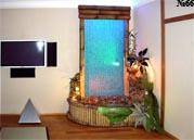 Водная панель с отделкой бамбуком подходит как для утонченно-китайского, так и для минималистично – современного интерьера.